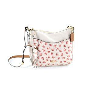 COACH Fruit Print Chaise Crossbody Handbag
